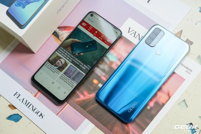 Cận cảnh smartphone giá rẻ OPPO A53 vừa ra mắt: 3 camera sau, màn 90Hz, pin 5000 mAh, sạc nhanh 18W, giá 4,49 triệu đồng - Ảnh 7.
