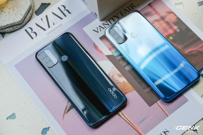 Cận cảnh smartphone giá rẻ OPPO A53 vừa ra mắt: 3 camera sau, màn 90Hz, pin 5000 mAh, sạc nhanh 18W, giá 4,49 triệu đồng - Ảnh 3.