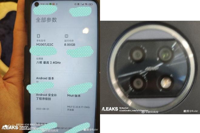 Redmi Note 10 lộ diện: Màn hình đục lỗ, cụm 3 camera hình tròn, cảm biến chính 48MP - Ảnh 2.