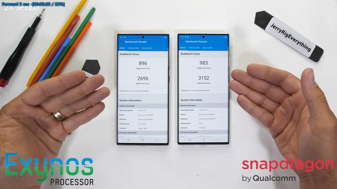 So sánh hiệu năng Galaxy Note20 Ultra bản Exynos và bản Snapdragon, kết quả đầy bất ngờ - Ảnh 5.
