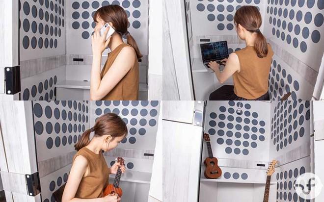 Với căn phòng cách âm siêu nhỏ gọn này của người Nhật, bạn sẽ có không gian làm việc vô cùng thoải mái và hiệu quả - Ảnh 5.