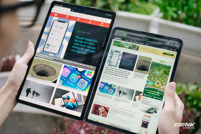 So sánh nhanh Galaxy Tab S7+ với iPad Pro: Máy tính bảng Android đã thực sự bắt kịp được iPad? - Ảnh 10.