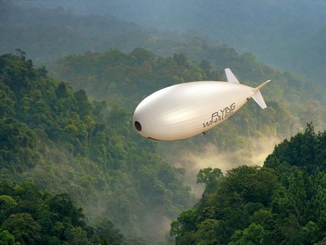 Khí cầu mới của Pháp có khả năng nhận và thả hàng mà không cần hạ cánh - Ảnh 1.