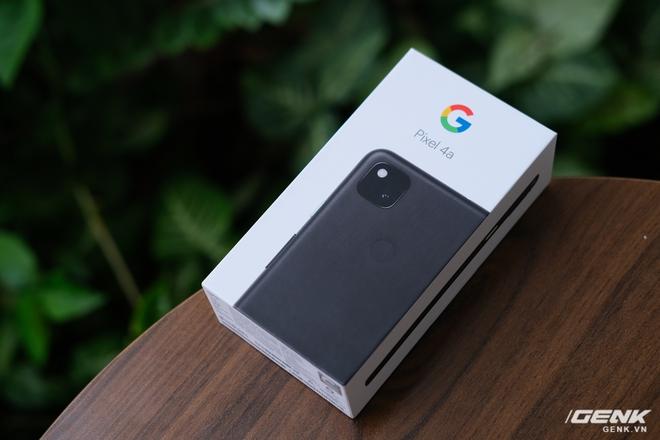 Trên tay Google Pixel 4a: Gọn nhẹ, chỉ 1 camera sau, sản xuất tại Việt Nam, giá gần 10 triệu đồng - Ảnh 1.