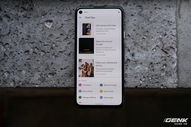 Trên tay Google Pixel 4a: Gọn nhẹ, chỉ 1 camera sau, sản xuất tại Việt Nam, giá gần 10 triệu đồng - Ảnh 9.