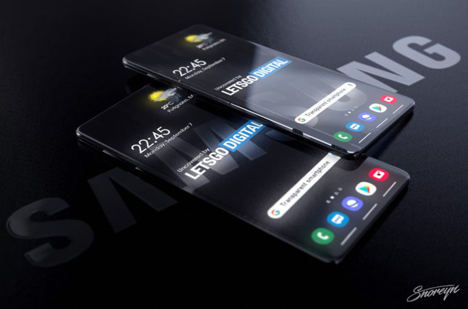 Samsung đăng ký bằng sáng chế smartphone trong suốt, có thể nhìn xuyên từ trước ra sau - Ảnh 2.