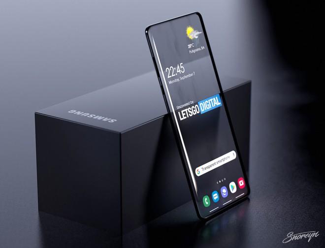 Samsung đăng ký bằng sáng chế smartphone trong suốt, có thể nhìn xuyên từ trước ra sau - Ảnh 3.