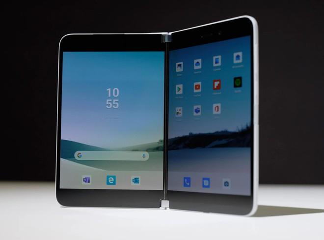 Samsung đang phát triển một chiếc smartphone màn hình gập mới sở hữu hình thức như Surface Duo? - Ảnh 2.