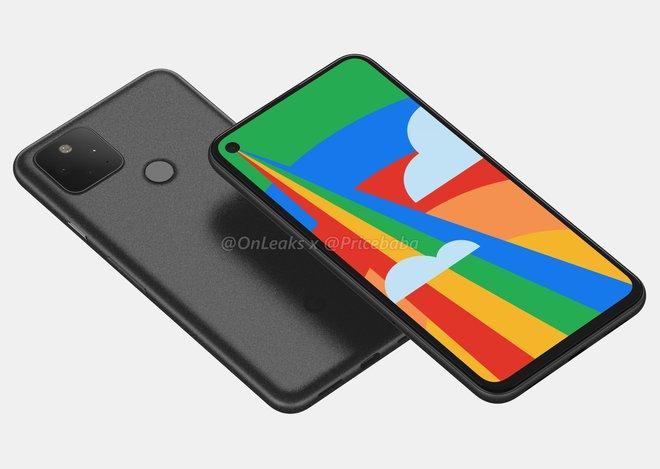Google Pixel 5 lộ ảnh thực tế: Màn hình nốt ruồi, camera vuông giống Pixel 4 - Ảnh 2.