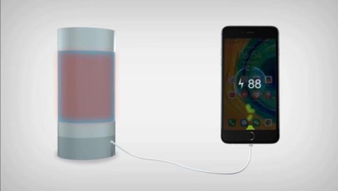 Các nhà khoa học vũ trụ Trung Quốc sử dụng nhiệt từ nước nóng để sạc điện thoại - Ảnh 1.