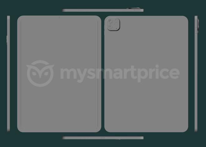 iPad Pro 2021 lộ ảnh render: Thiết kế không đổi, nâng cấp cấu hình, ra mắt vào tháng 3 - Ảnh 1.