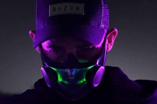 [CES 2021] Razer giới thiệu chiếc khẩu trang N95 siêu ngầu với đèn LED RGB, lọc virus Covid-19 - Ảnh 5.