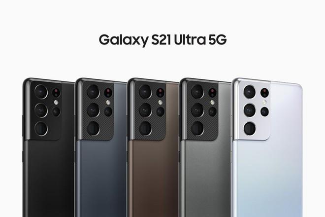 Trước thềm sự kiện: Samsung Galaxy S21 Ultra sẽ có 5 màu, trong đó có một màu rất đặc biệt - Ảnh 1.