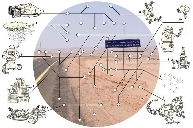 Thái tử Ả Rập Xê Út muốn xây một thành phố thẳng tắp, dài 170km cắt ngang toàn bộ lãnh thổ quốc gia - Ảnh 1.