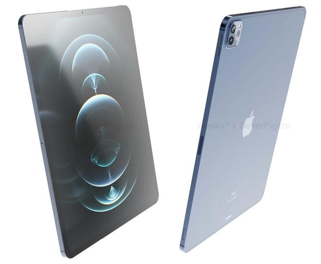 Đây là iPad Pro 2021: Thiết kế cũ, viền mỏng hơn, màn hình mini-LED, hỗ trợ 5G, ra mắt vào tháng 10 - Ảnh 3.