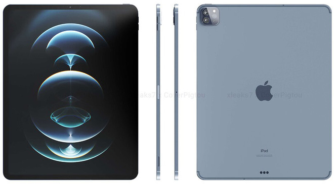 Đây là iPad Pro 2021: Thiết kế cũ, viền mỏng hơn, màn hình mini-LED, hỗ trợ 5G, ra mắt vào tháng 10 - Ảnh 1.