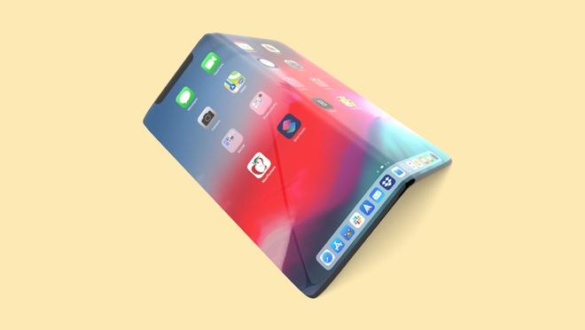 Apple đang phát triển iPhone màn hình gập, iPhone mới sẽ có cả Touch ID trong màn hình - Ảnh 1.
