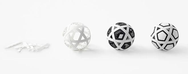 Người Nhật sáng tạo ra một trái bóng không bao giờ cần bơm - Ảnh 1.