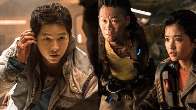 Đã mắt với trailer bom tấn sci-fi mới của Hàn Quốc, đưa khán giả đi càn quét khắp vũ trụ, hoành tráng không thua gì Hollywood - Ảnh 2.