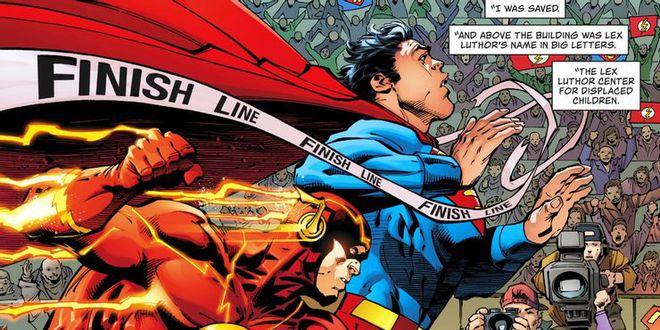 Superman vs The Flash: Ai sẽ là người chiến thắng trong cuộc đua tốc độ? - Ảnh 2.