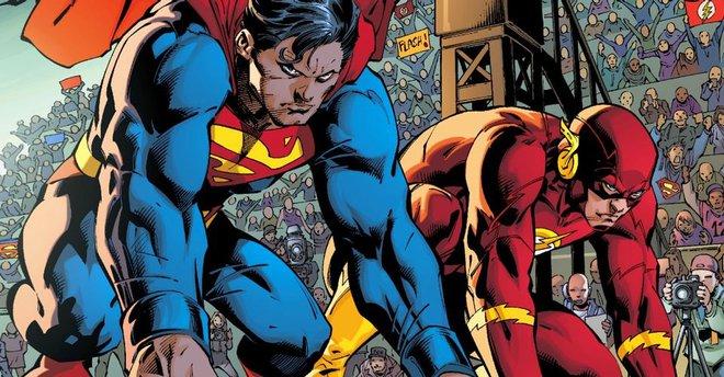 Superman vs The Flash: Ai sẽ là người chiến thắng trong cuộc đua tốc độ? - Ảnh 1.