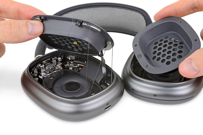 """Mổ bụng AirPods Max của Apple: """"Có thể khiến tai nghe của Sony và Bose trông như một món đồ chơi"""" - Ảnh 3."""
