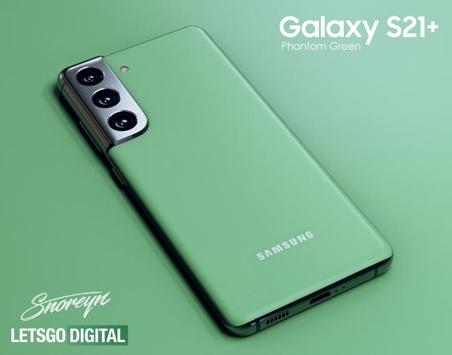 Galaxy S21+ sắp có thêm phiên bản màu xanh lá Phantom Green? - Ảnh 1.