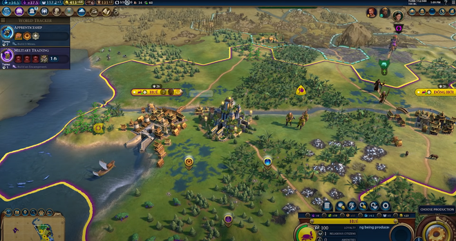 Nữ tướng Bà Triệu và Việt Nam xuất hiện trong game chiến thuật đình đám Civilization 6, sở hữu kĩ năng rất bá đạo - Ảnh 3.