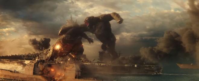 Trailer Godzilla vs. Kong lên sóng: Quái vật nguyên tử bị tinh tinh khổng lồ đấm thẳng mặt không trượt phát nào - Ảnh 2.