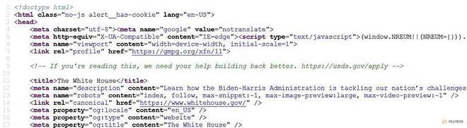 Chính phủ Mỹ tuyển coder bằng đoạn mã bí mật, ai phát hiện ra sẽ cơ hội làm việc - Ảnh 1.