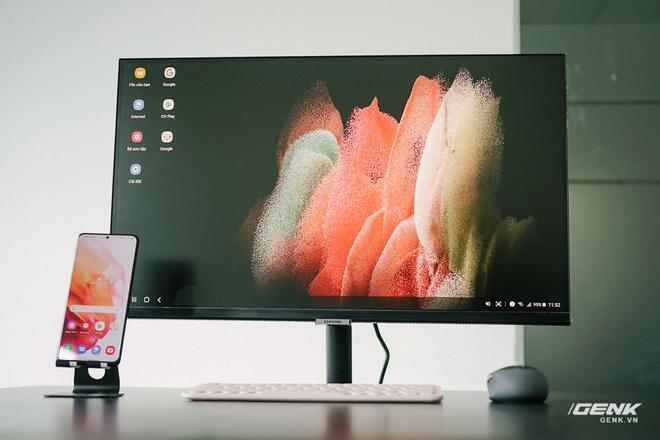 Cận cảnh Samsung M5: Màn hình thông minh mới của Samsung có thể hoạt động độc lập không cần máy tính, giá từ 7 triệu đồng - Ảnh 1.