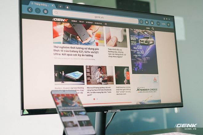 Cận cảnh Samsung M5: Màn hình thông minh mới của Samsung có thể hoạt động độc lập không cần máy tính, giá từ 7 triệu đồng - Ảnh 2.