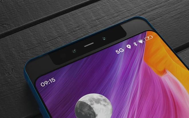 Đây có thể là chiếc Xiaomi Mi MIX tiếp theo, màn hình trượt theo chiều dọc vòng ra cả phía sau - Ảnh 2.