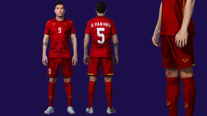 Đội tuyển Việt Nam và CLB Viettel sẽ xuất hiện chính thức trong game bóng đá PES 2022 - Ảnh 2.
