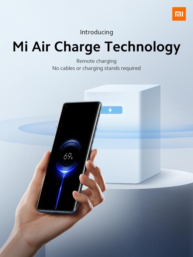 Xiaomi ra mắt sạc công nghệ không dây đích thực, cách vài mét vẫn có điện - Ảnh 1.