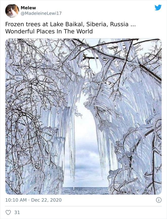 Những bức ảnh cho thấy thời tiết ở Nga lạnh vô đối như thế nào - Ảnh 11.