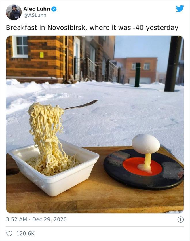 Những bức ảnh cho thấy thời tiết ở Nga lạnh vô đối như thế nào - Ảnh 1.