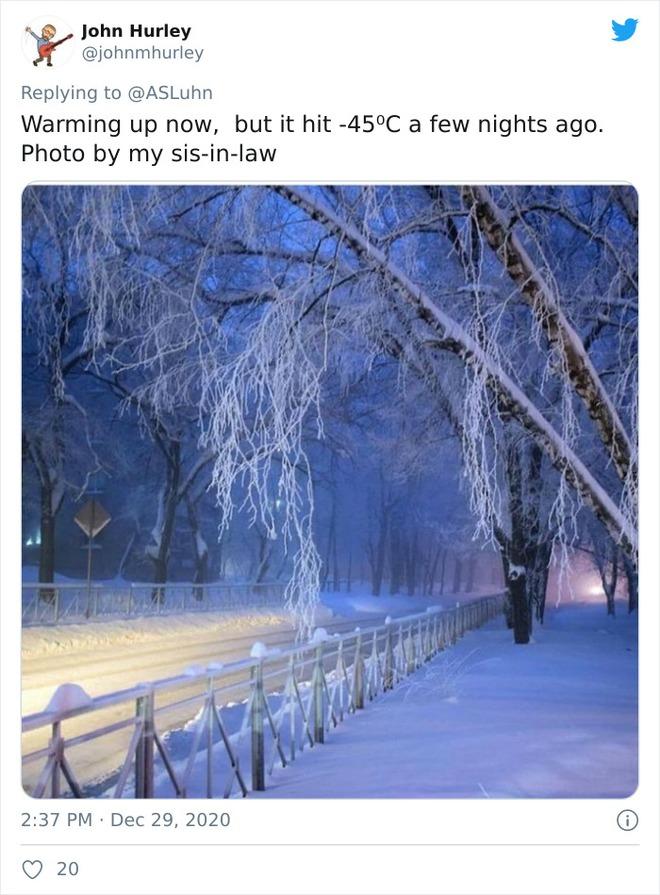 Những bức ảnh cho thấy thời tiết ở Nga lạnh vô đối như thế nào - Ảnh 21.