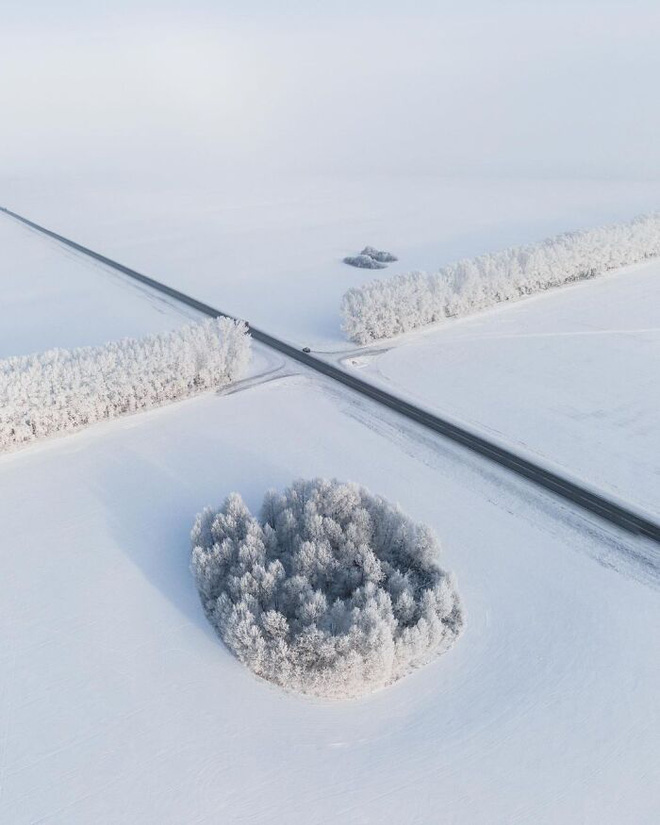 Những bức ảnh cho thấy thời tiết ở Nga lạnh vô đối như thế nào - Ảnh 14.