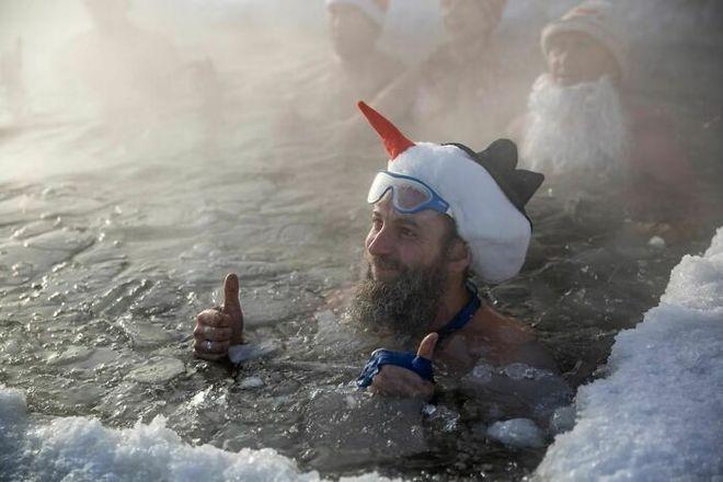 Những bức ảnh cho thấy thời tiết ở Nga lạnh vô đối như thế nào - Ảnh 25.