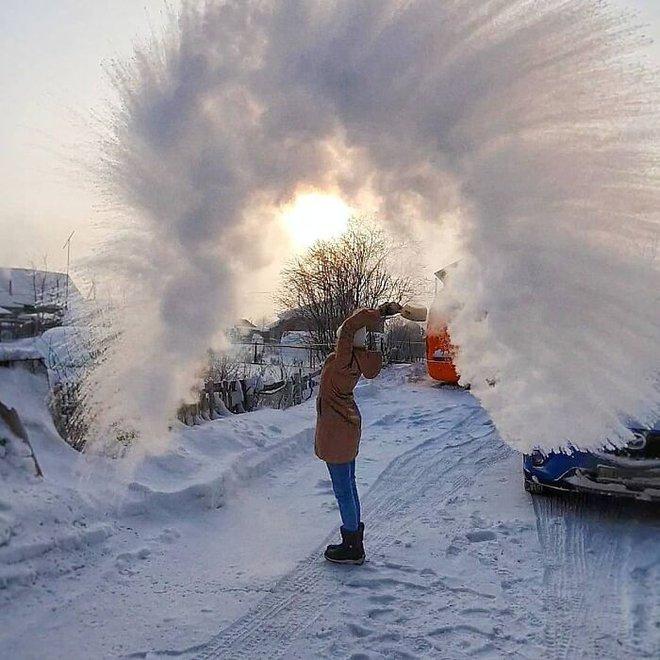 Những bức ảnh cho thấy thời tiết ở Nga lạnh vô đối như thế nào - Ảnh 6.