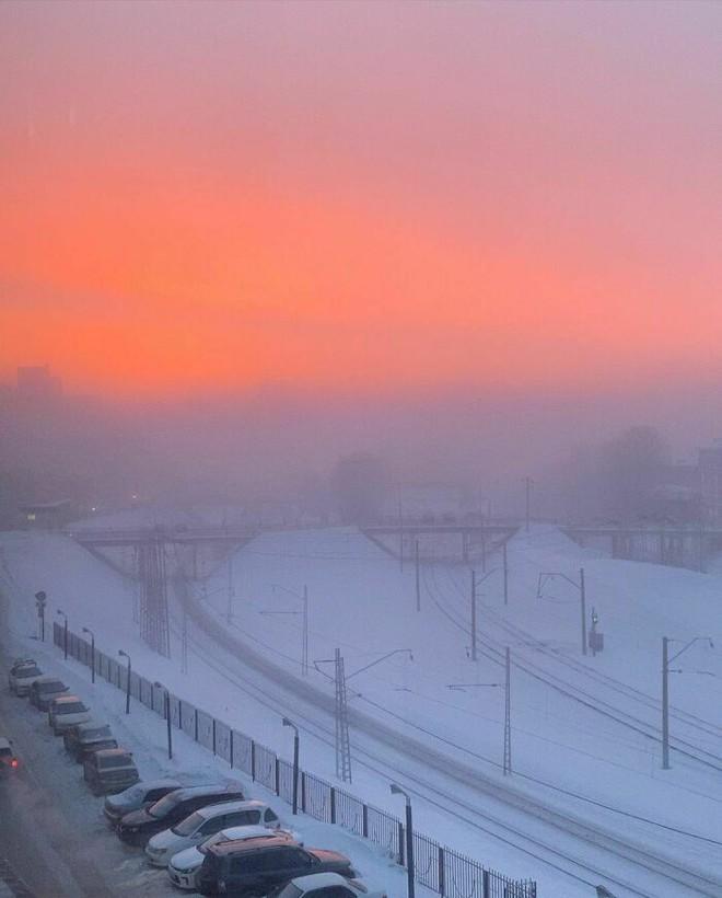 Những bức ảnh cho thấy thời tiết ở Nga lạnh vô đối như thế nào - Ảnh 9.