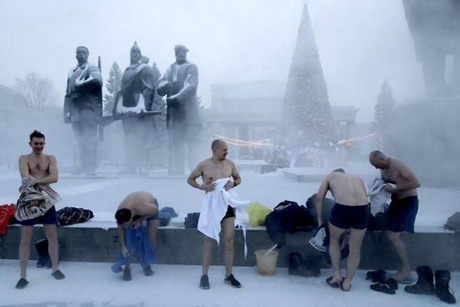 Những bức ảnh cho thấy thời tiết ở Nga lạnh vô đối như thế nào - Ảnh 23.