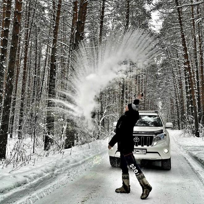 Những bức ảnh cho thấy thời tiết ở Nga lạnh vô đối như thế nào - Ảnh 26.