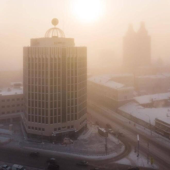 Những bức ảnh cho thấy thời tiết ở Nga lạnh vô đối như thế nào - Ảnh 29.