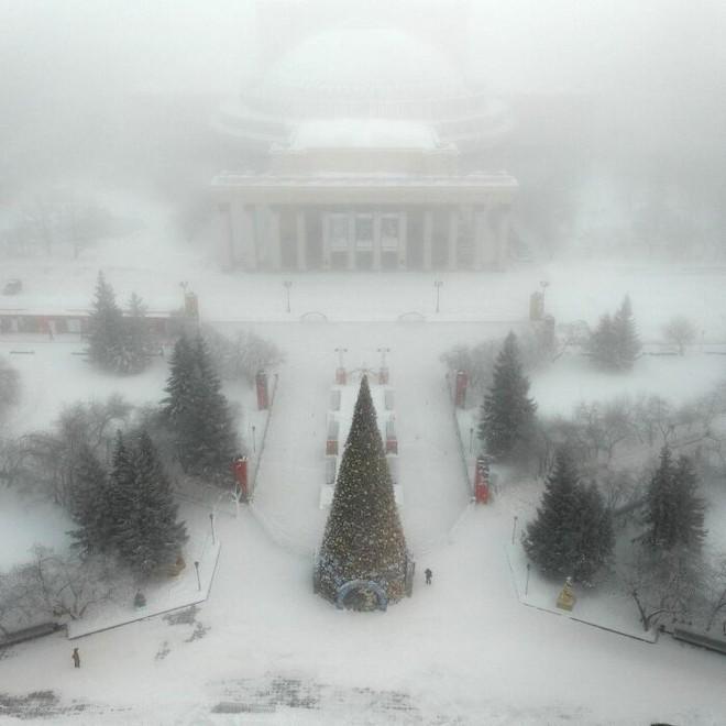 Những bức ảnh cho thấy thời tiết ở Nga lạnh vô đối như thế nào - Ảnh 16.