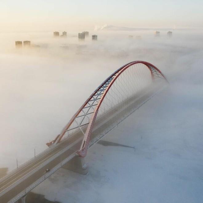 Những bức ảnh cho thấy thời tiết ở Nga lạnh vô đối như thế nào - Ảnh 20.