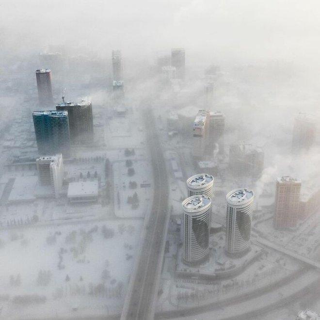 Những bức ảnh cho thấy thời tiết ở Nga lạnh vô đối như thế nào - Ảnh 28.
