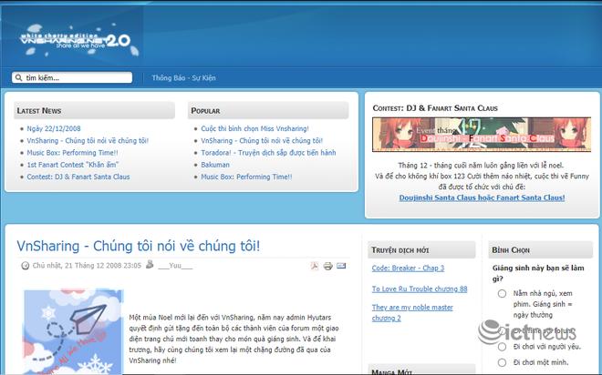 Giao diện của các website, diễn đàn vang bóng một thời tại Việt Nam - Ảnh 13.