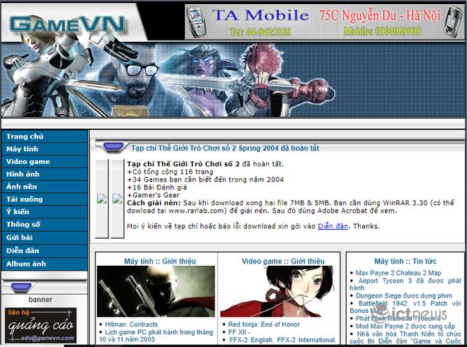 Giao diện của các website, diễn đàn vang bóng một thời tại Việt Nam - Ảnh 4.